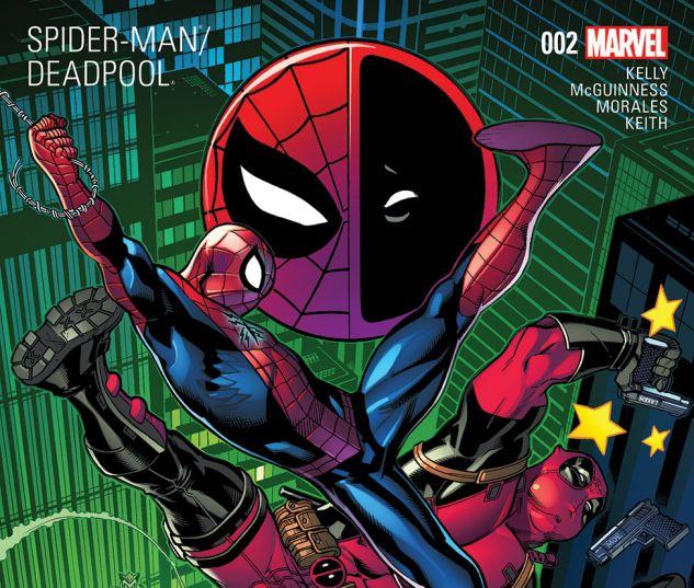 deadpool and spiderman comic - photo #17