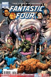Fantastic Four (1998) #575 (2ND PRINTING VARIANT)
