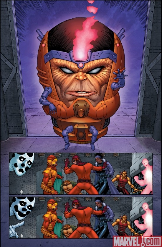 M.O.D.O.K. in SUPER-VILLAIN TEAM-UP: M.O.D.O.K.'S 11