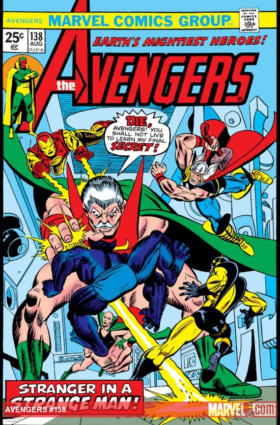 Avengers (1963) #138