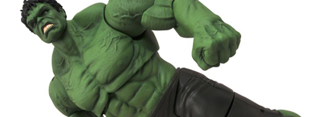 Marvel Select Hulk Coming this April