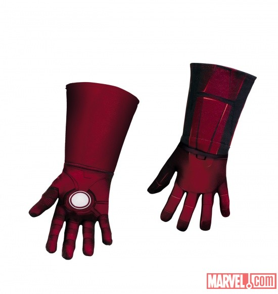 Iron Man Mark 7 Deluxe Gloves Child