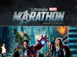 AMC's Ultimate Marvel Marathon poster