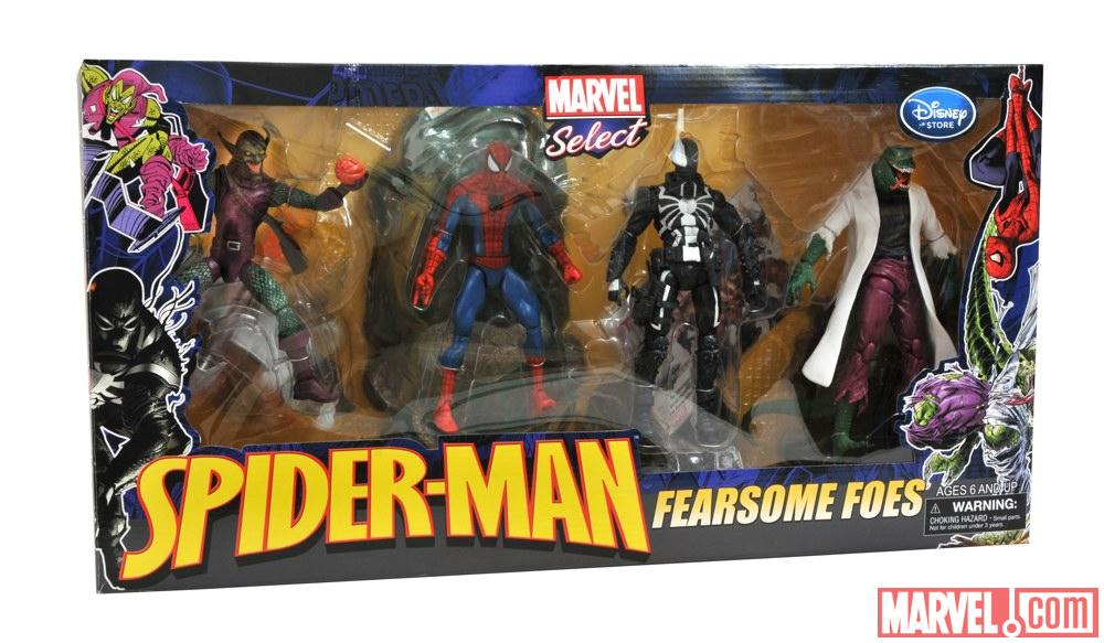 Fearsome Foes Spider Man Spider-man Fearsome Foes Box