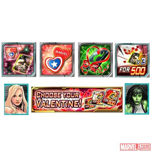 Join the Valentine's Day event in Marvel War of Heroes now