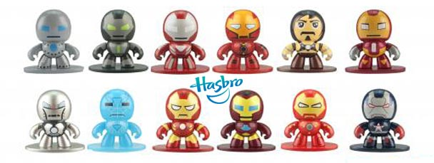 New Iron Man 3 and Avengers Assemble Micro Muggs