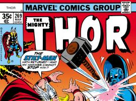 Thor (1966) #269 Cover