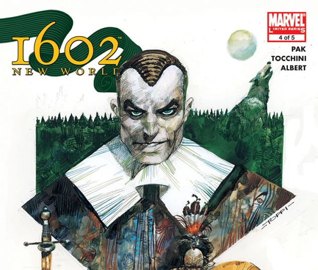 Marvel 1602: New World (2005) #4