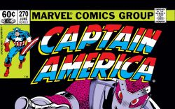 Captain America (1968) #270 Cover