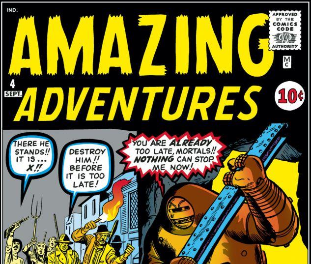 Amazing Adventures (1961) #4 Cover