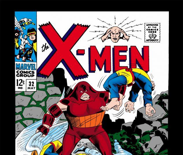 Uncanny X-Men (1963) #32 Cover