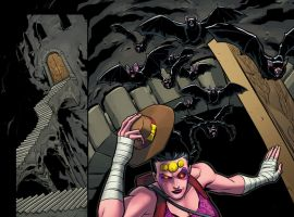 Mrs. Deadpool and the Howling Commandos #1 preview art by Salvador Espin