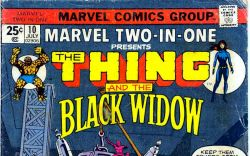 Marvel Two-in-One #10 cover