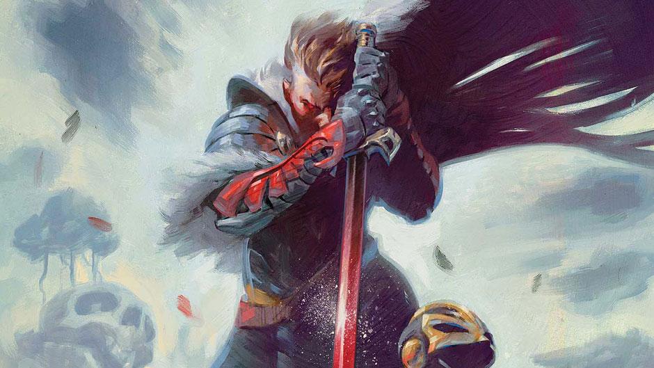 Black Knight #1 cover by Julian Totino Tedesco