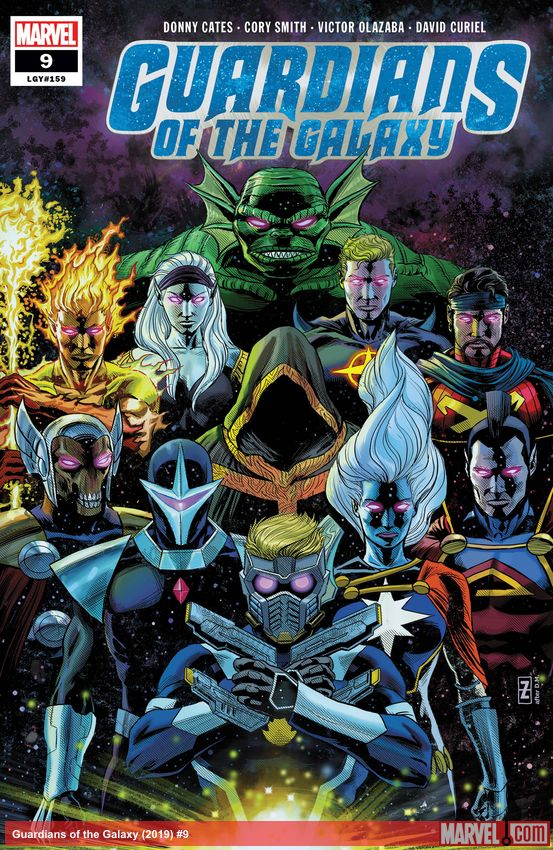 Guardians of the Galaxy (2019) #9