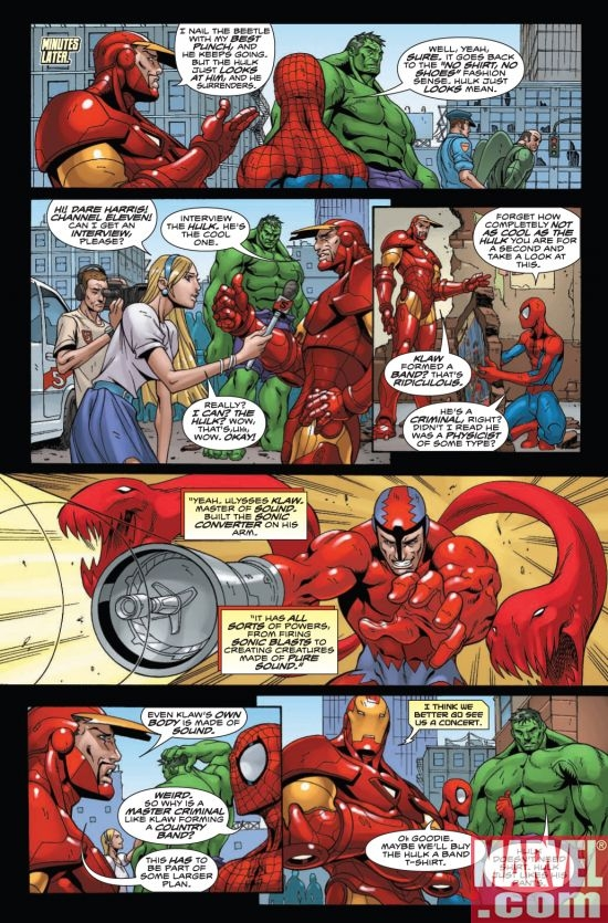 MARVEL ADVENTURES SUPER HEROES #4, page 5