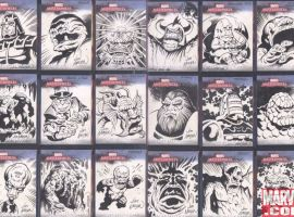 sketch cards by Jim Nelson
