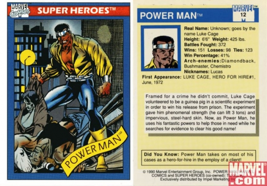 Power Man, Card #12