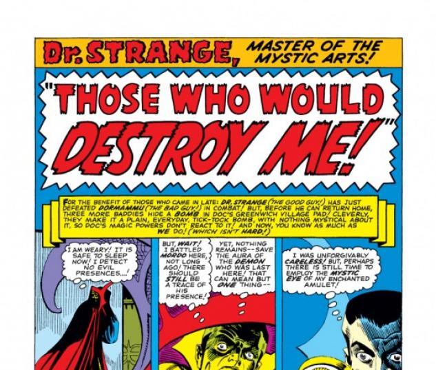 Strange Tales (1951) #142