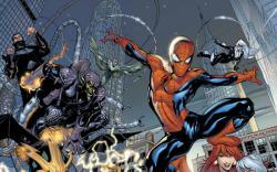MARVEL KNIGHTS SPIDER-MAN (2000) #1 COVER