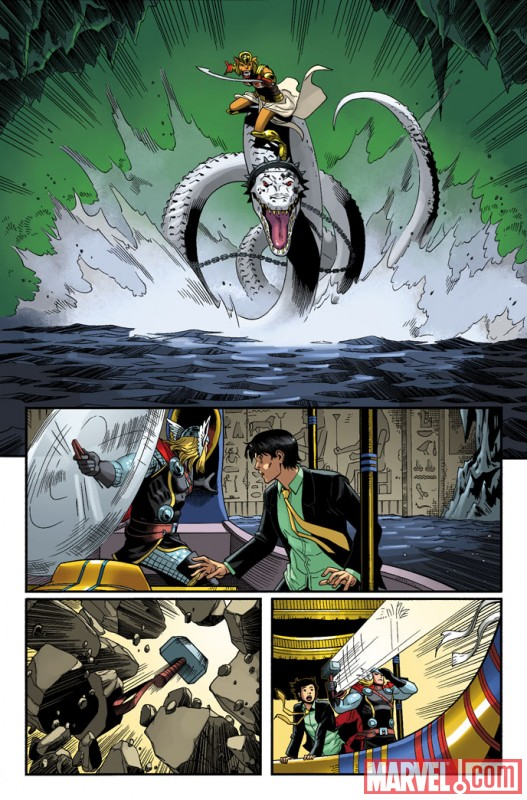 HEROIC AGE: PRINCE OF POWER #3 preview art by Reilly Brown 5