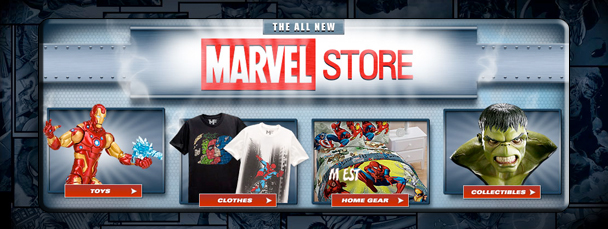 Presenting the New Marvel Store!