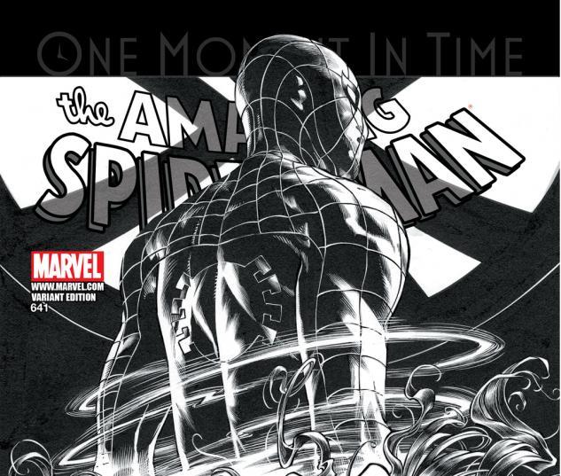 Amazing Spider-Man (1999) #641 SKETCH VARIANT