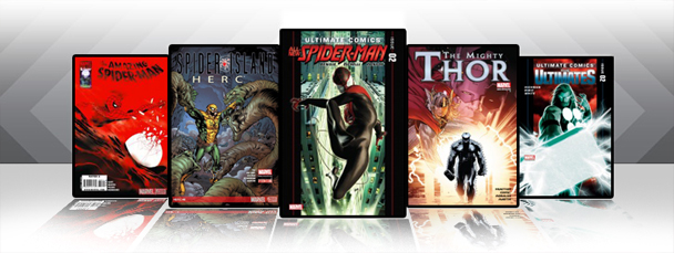 Marvel iPad/iPod App: Latest Titles 9/28/11