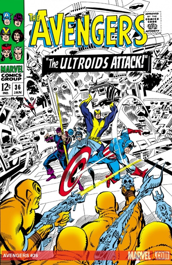 Avengers (1963) #36 cover