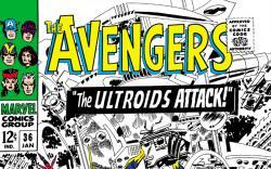 Avengers (1963) #36 cover