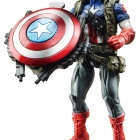 Avengers Power-Up Mission Figure Ultimate Captain America wave 1