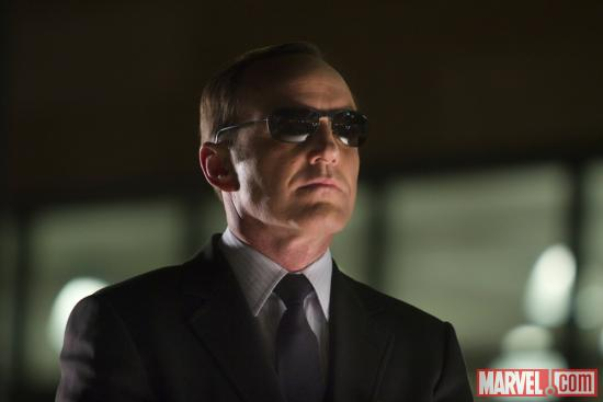 Clark Gregg as Agent Phil Coulson in 'Marvel's The Avengers'
