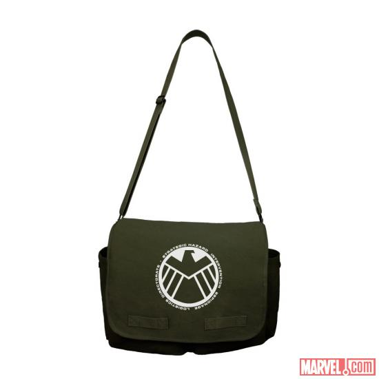 S.H.I.E.L.D. messenger bag by WeLoveFine
