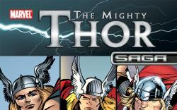 The Mighty Thor Saga (2011) #1 Cover