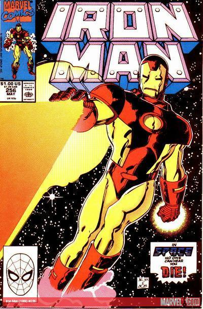 Iron Man #256 cover