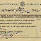 Steve Rogers' 4F certificate from Captain America: The First Avenger