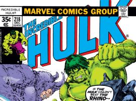 Incredible Hulk (1962) #218 Cover