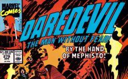 Daredevil #279 cover