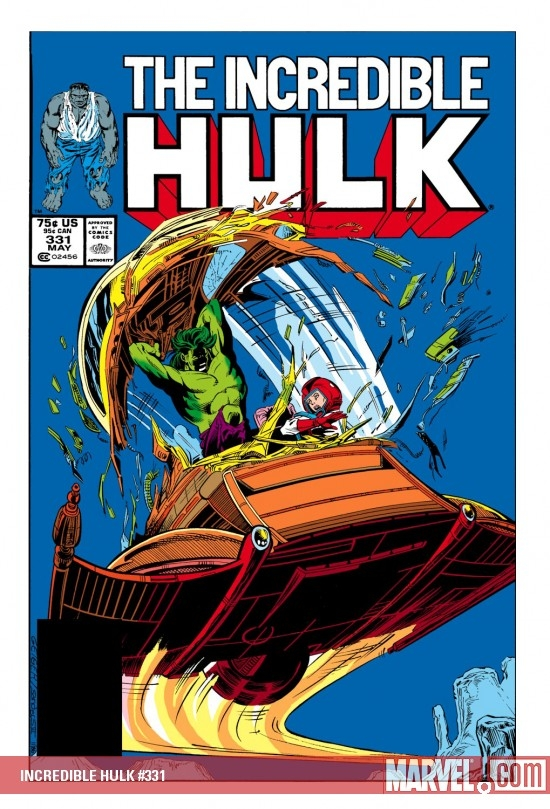 INCREDIBLE HULK #331 COVER