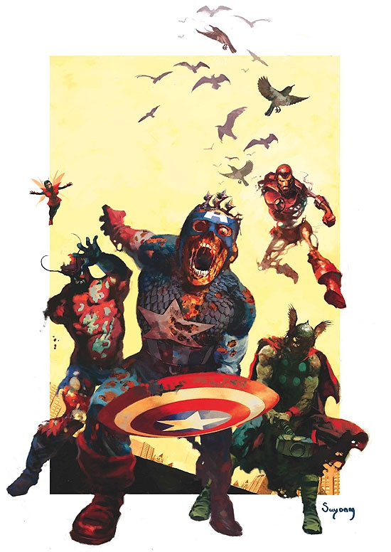 MARVEL ZOMBIES (2008) #2 COVER