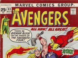 AVENGERS #93 cover