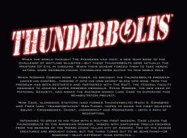 THUNDERBOLTS #146 recap page