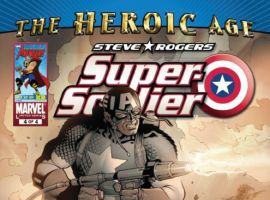 STEVE ROGERS: SUPER SOLDIER #4 cover by Carlos Pacheco