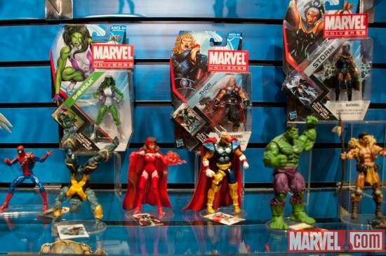 Hasbro Marvel Universe Figures