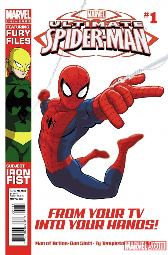 Marvel Universe: Ultimate Spider-Man #1 cover