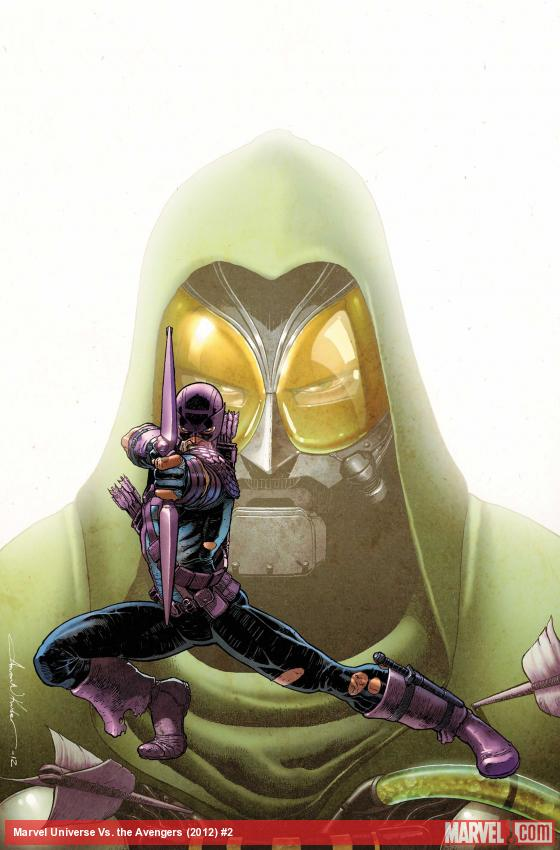 Marvel Universe Vs. The Avengers #2 Cover