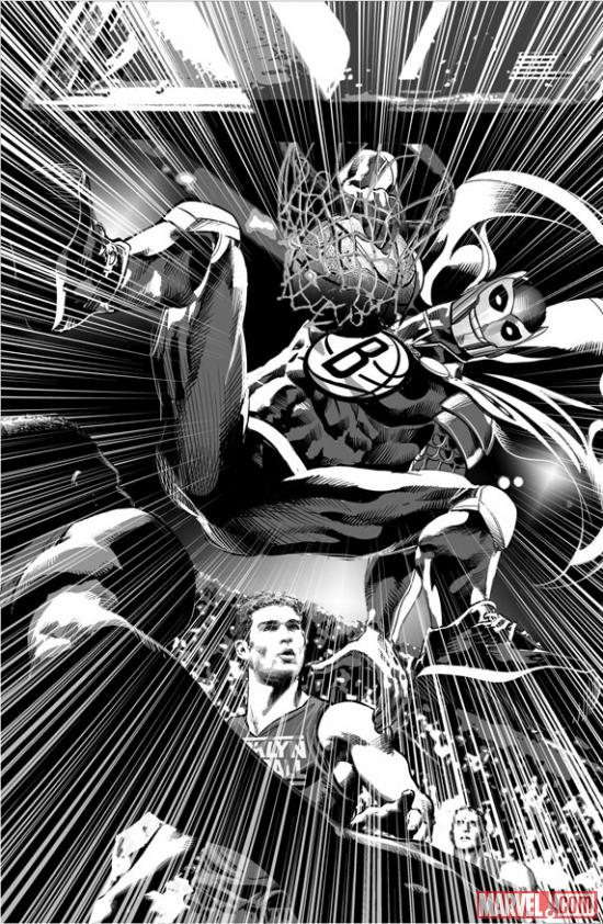 BrooklyKnight #1 art by Mike Deodato