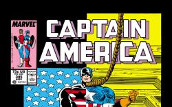 Captain America (1968) #345 Cover