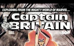 Captain Britain (1985) #8 Cover