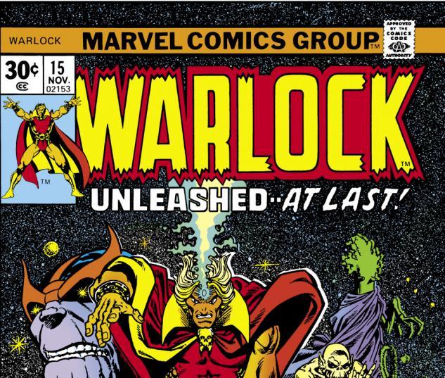 Warlock (1972) #15 Cover